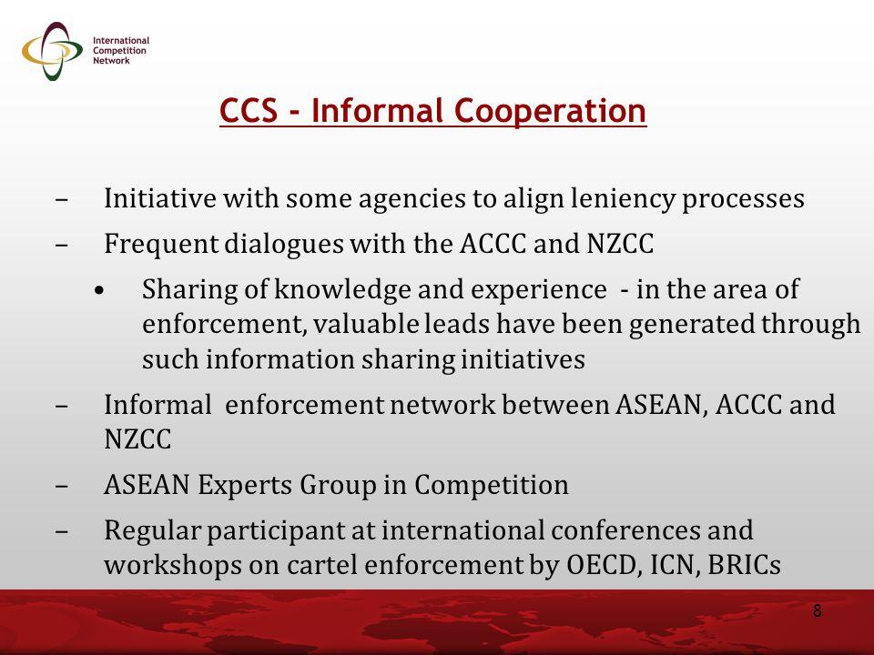 CCS - Informal Cooperation