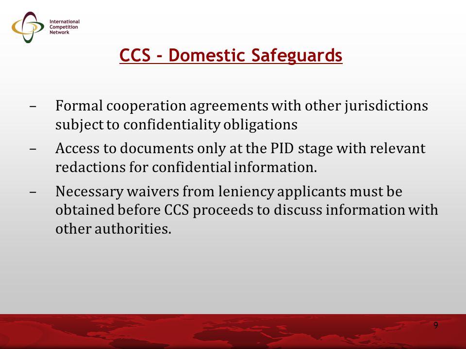 CCS - Domestic Safeguards