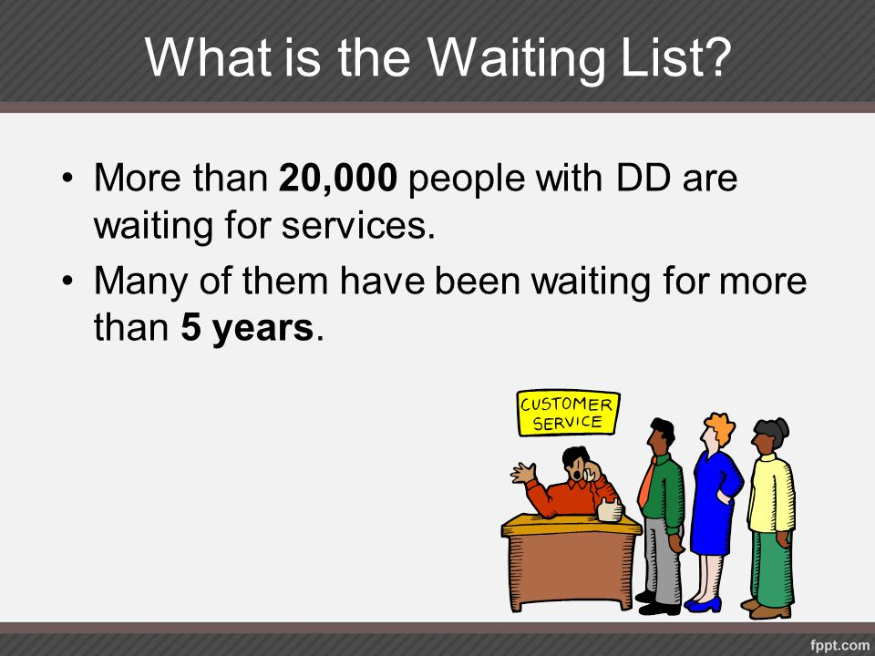 What is the Waiting List