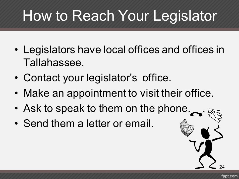 How to Reach Your Legislator
