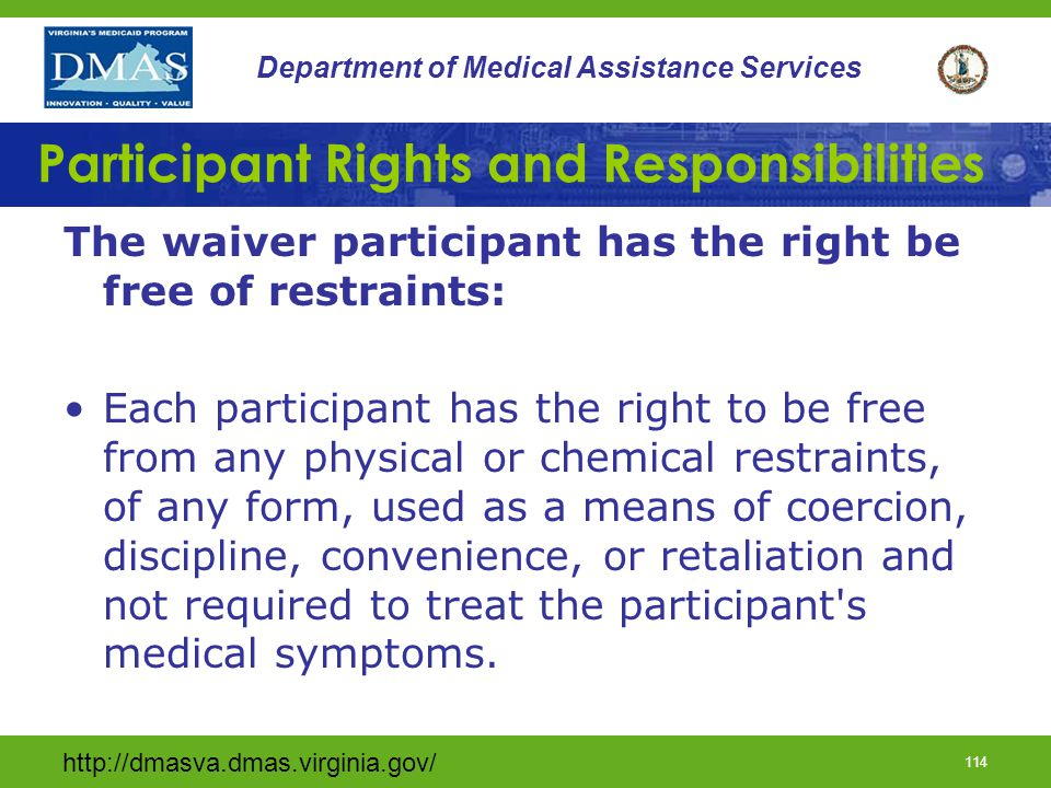 Participant Rights and Responsibilities