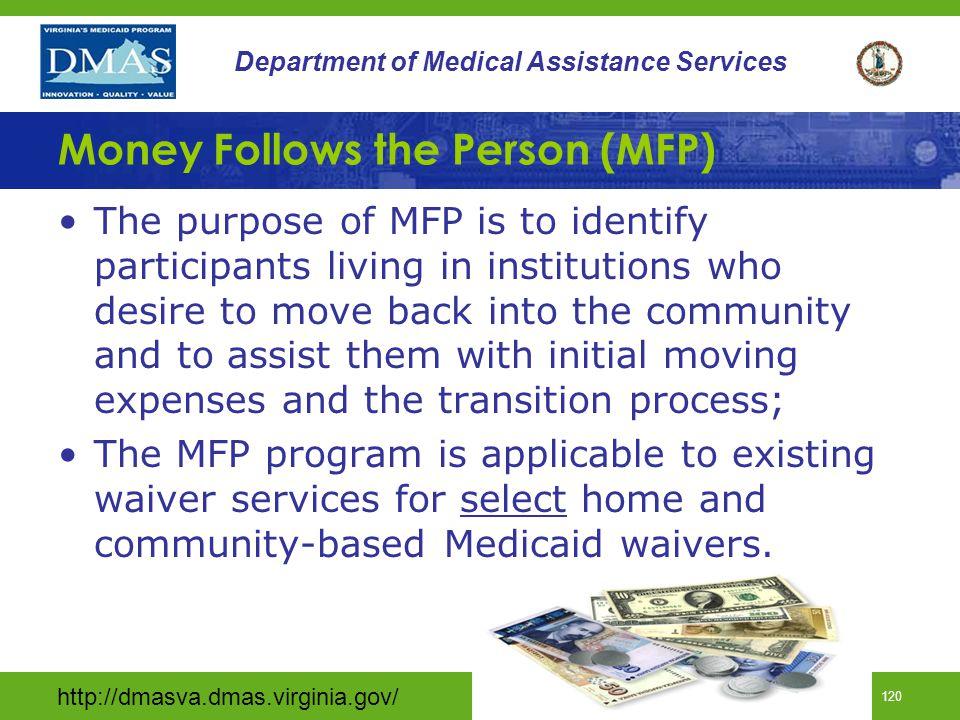 Money Follows the Person (MFP)
