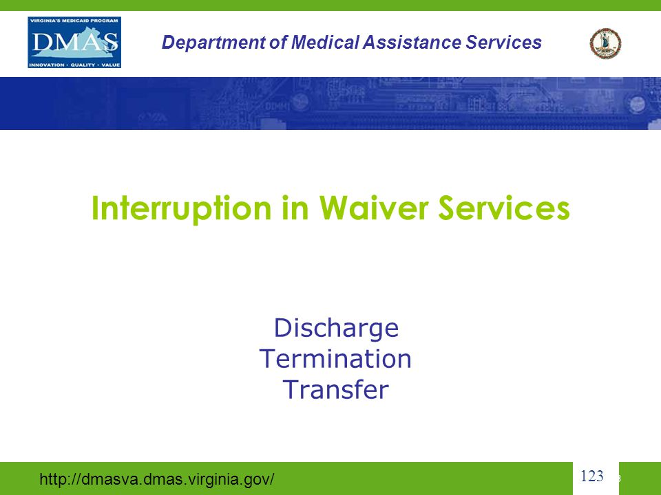 Interruption in Waiver Services