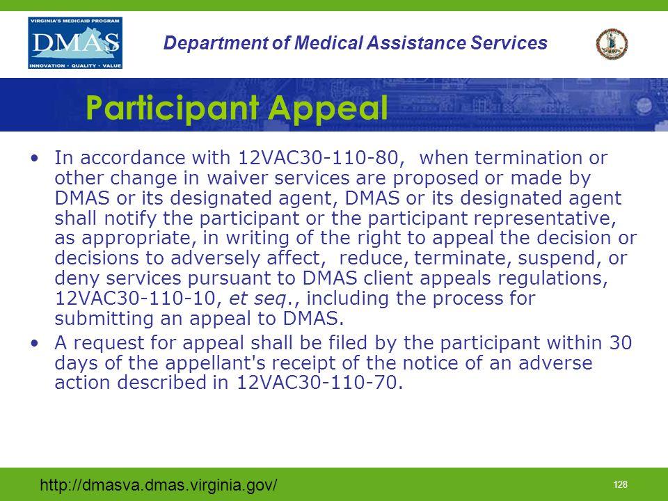 Participant Appeal