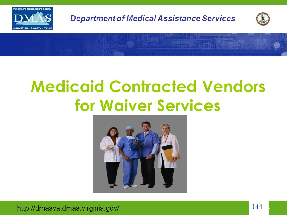 Medicaid Contracted Vendors for Waiver Services
