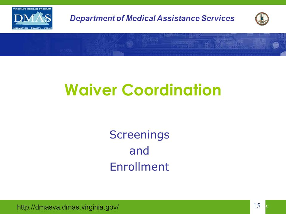 Screenings and Enrollment
