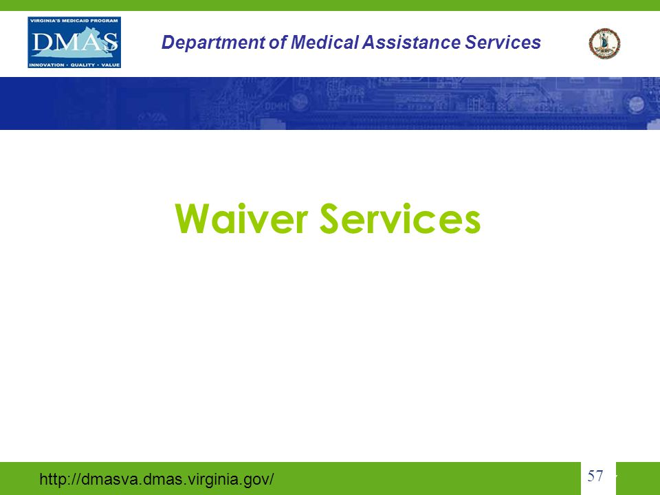 Waiver Services 57