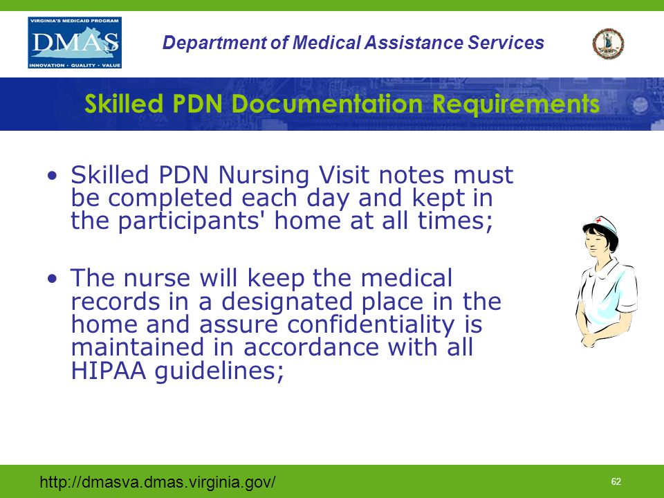 Skilled PDN Documentation Requirements