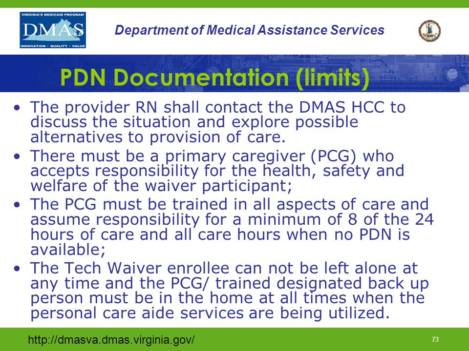 PDN Documentation (limits)