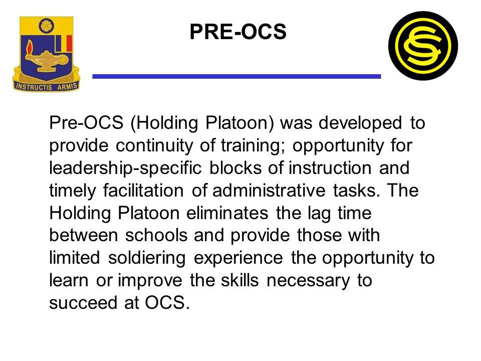 PRE-OCS