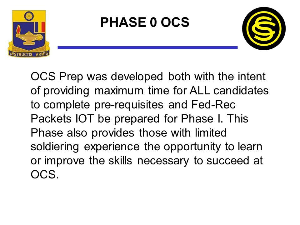 Phase 0 OCS