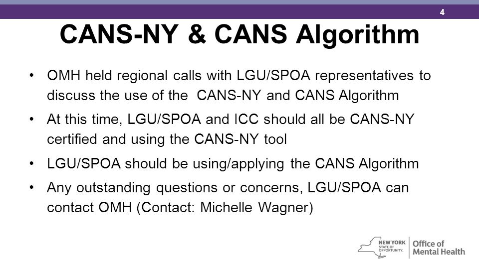 CANS-NY & CANS Algorithm