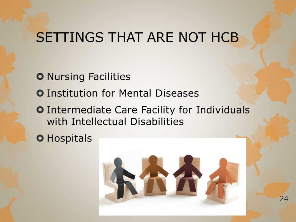 SETTINGS THAT ARE NOT HCB