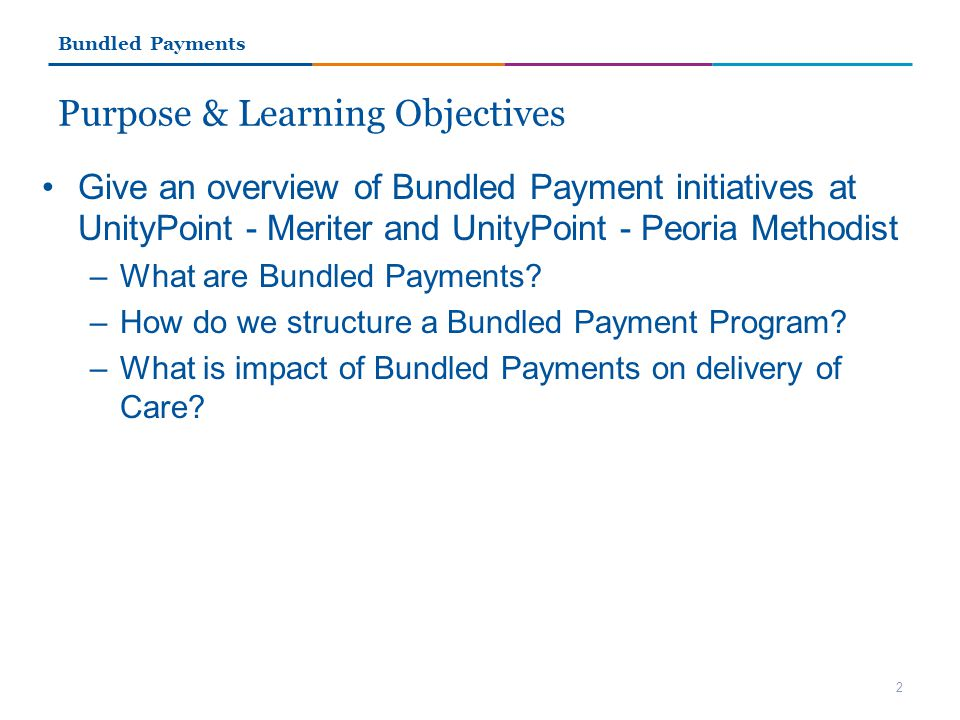 Purpose & Learning Objectives