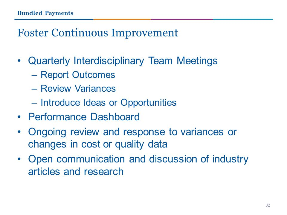 Foster Continuous Improvement