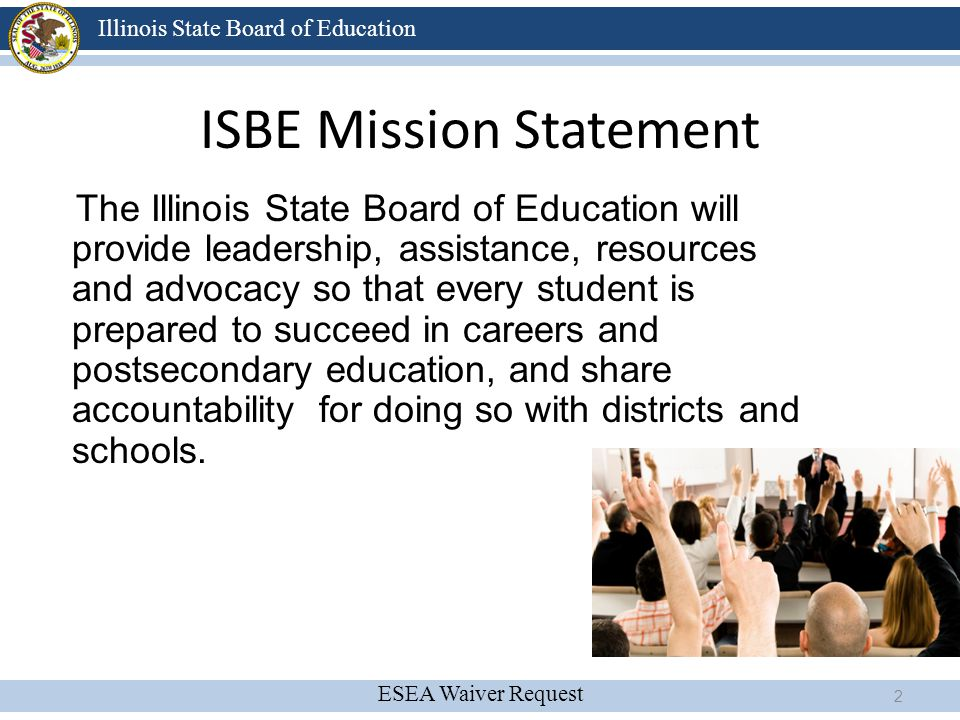 ISBE Mission Statement