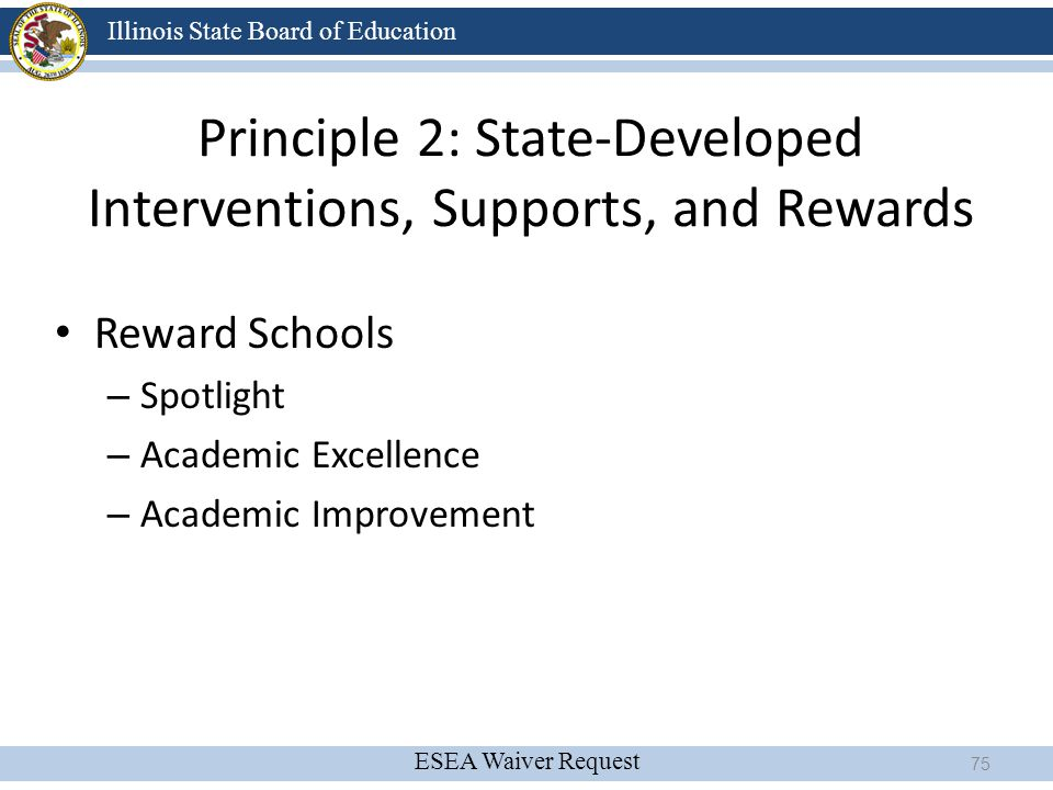 Principle 2: State-Developed Interventions, Supports, and Rewards