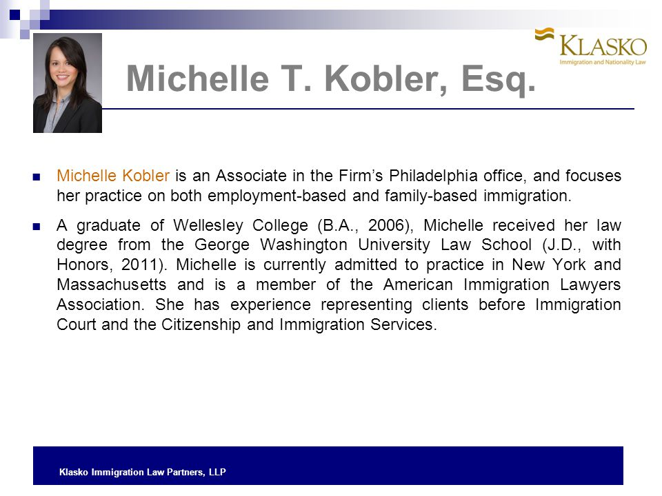 Michelle T. Kobler, Esq.
