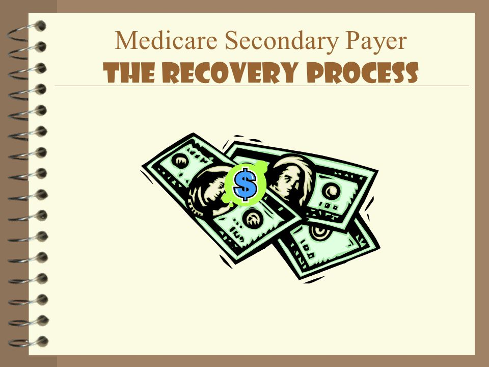 Medicare Secondary Payer The Recovery Process