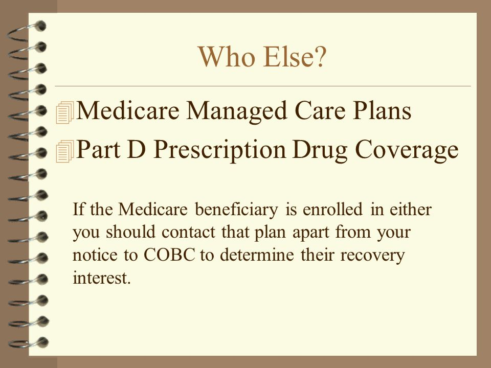 Who Else Medicare Managed Care Plans
