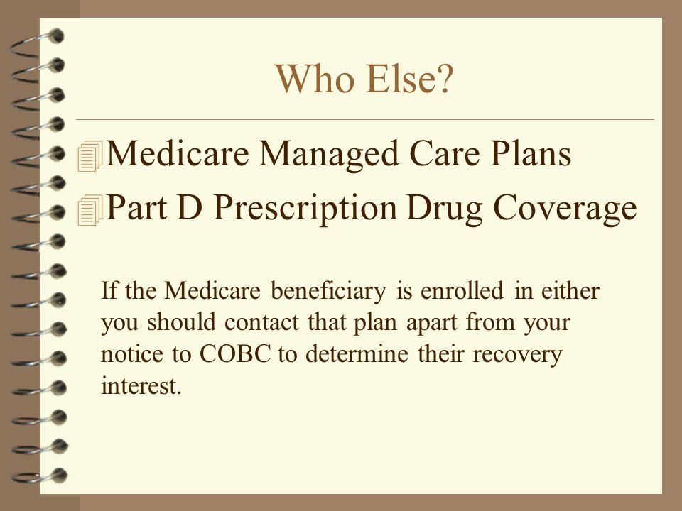 Who Else Medicare Managed Care Plans