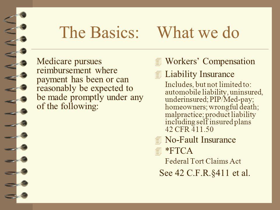 The Basics: What we do