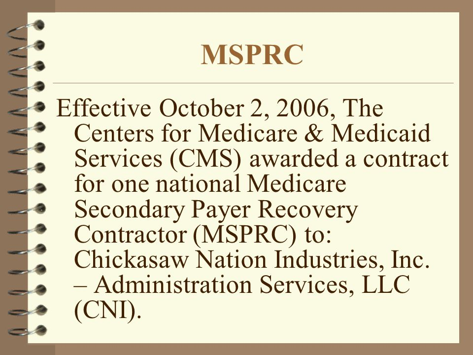 MSPRC
