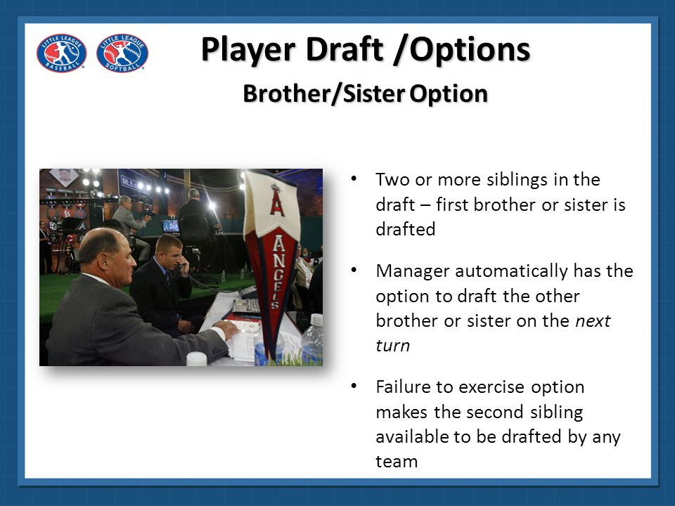 Brother/Sister Option