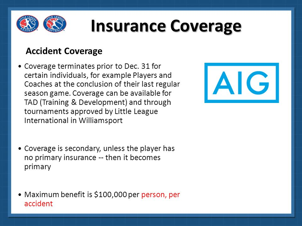 Insurance Coverage Accident Coverage