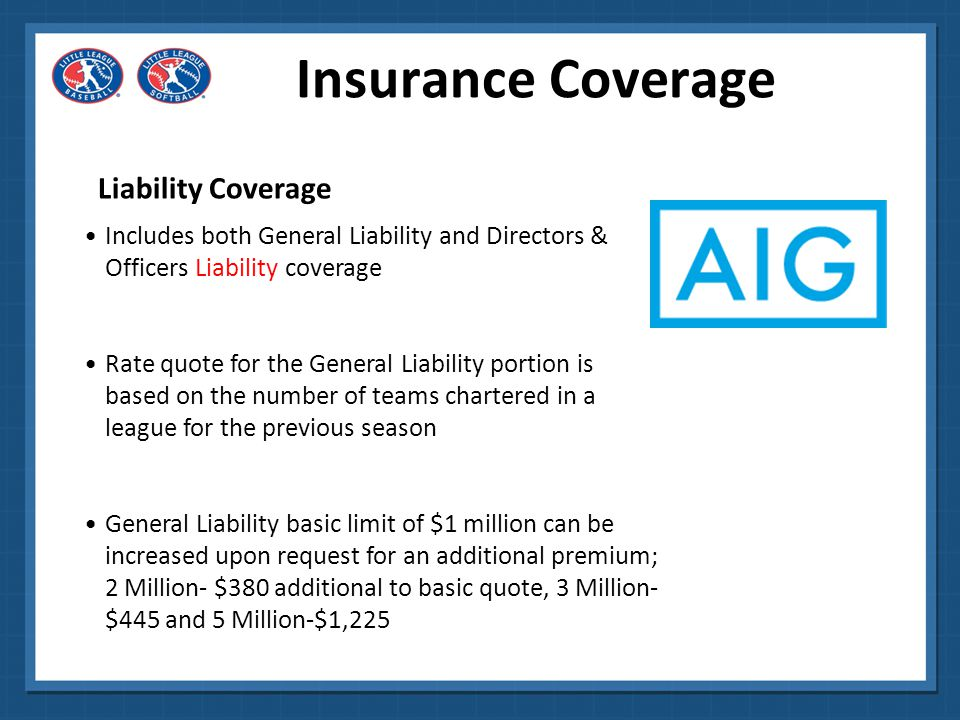 Insurance Coverage Liability Coverage