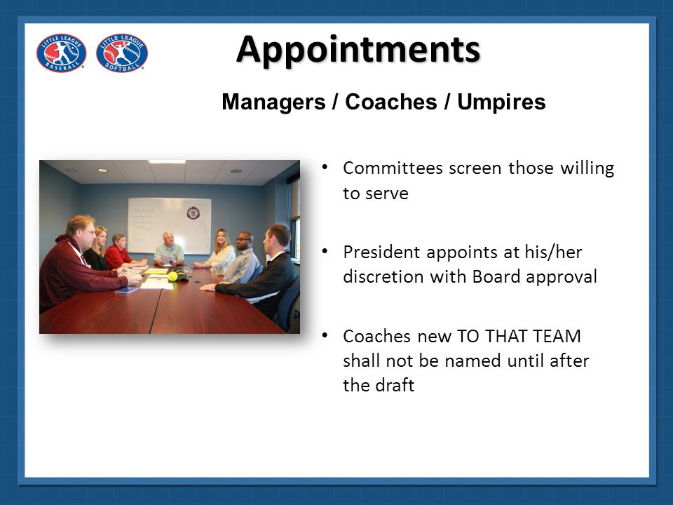 Managers / Coaches / Umpires