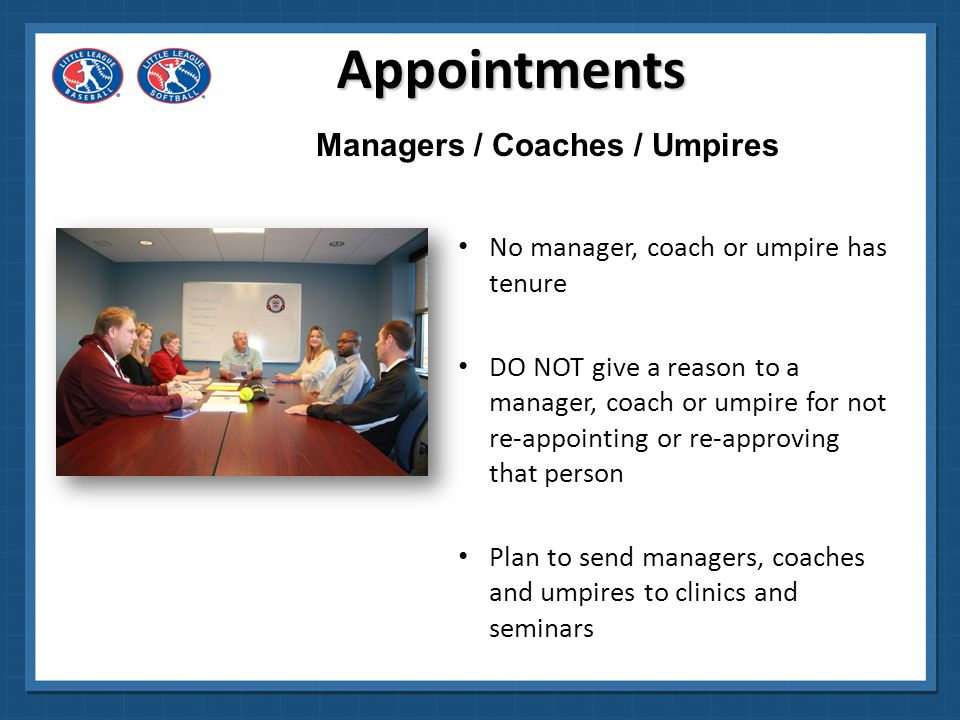 Managers / Coaches / Umpires
