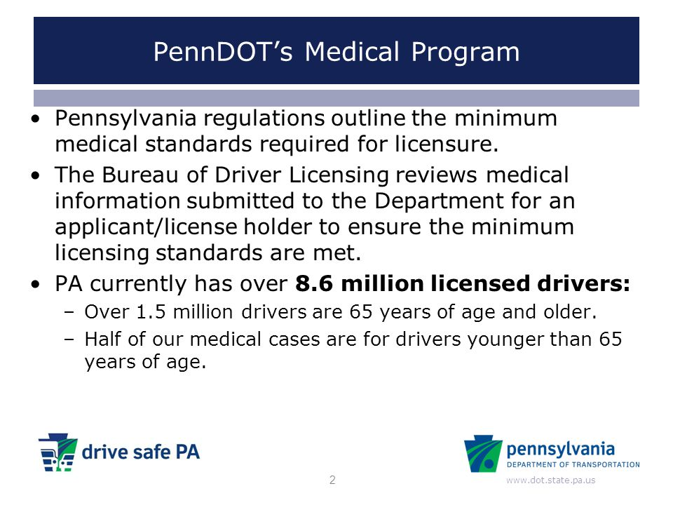 PennDOT's Medical Program