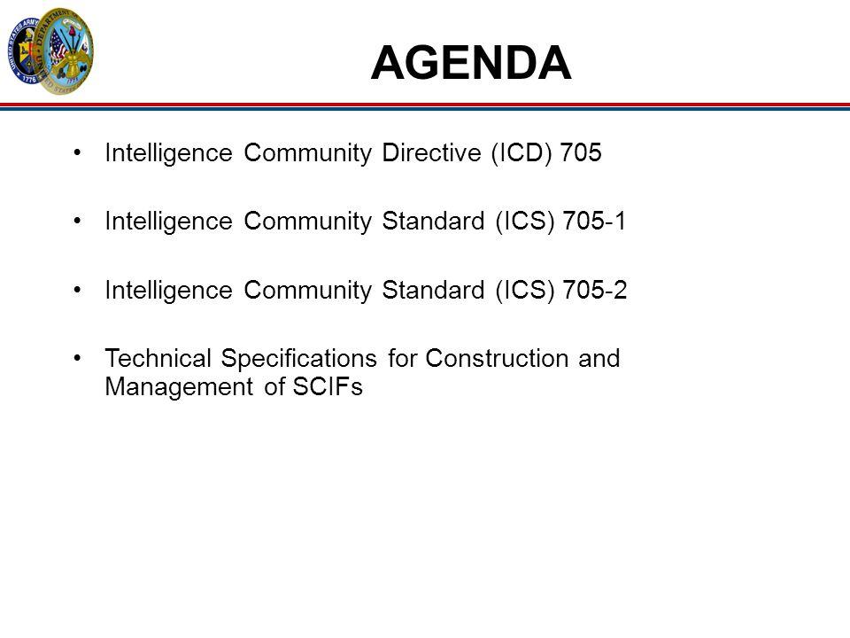 AGENDA Intelligence Community Directive (ICD) 705