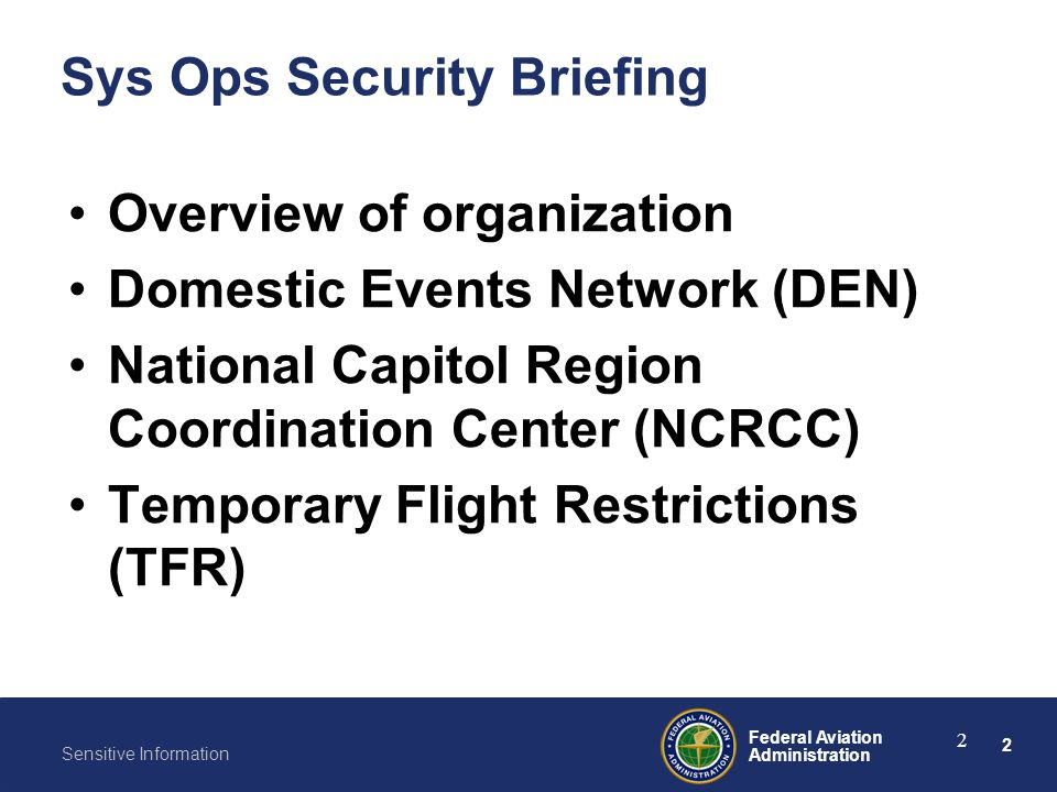 Sys Ops Security Briefing