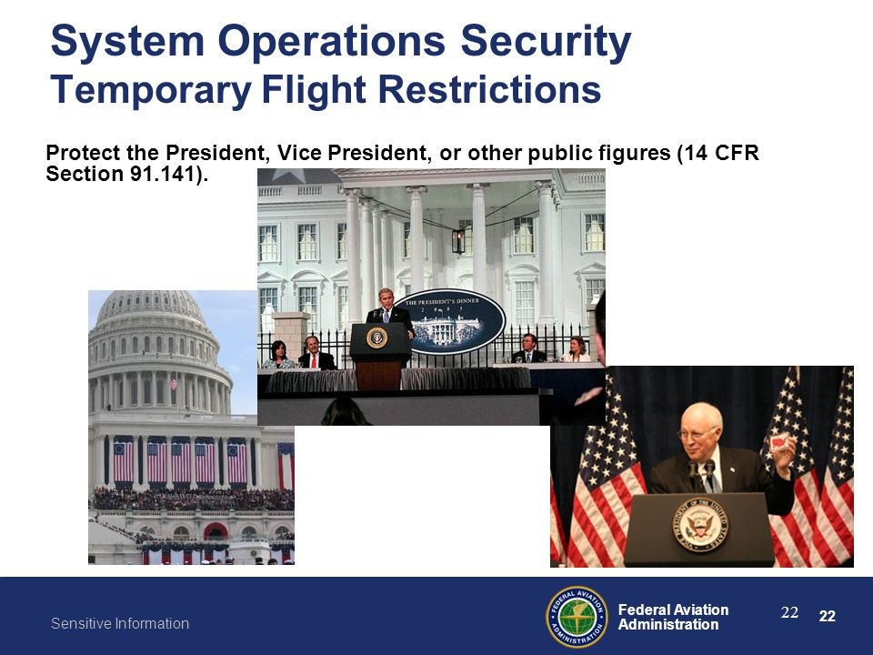 System Operations Security Temporary Flight Restrictions