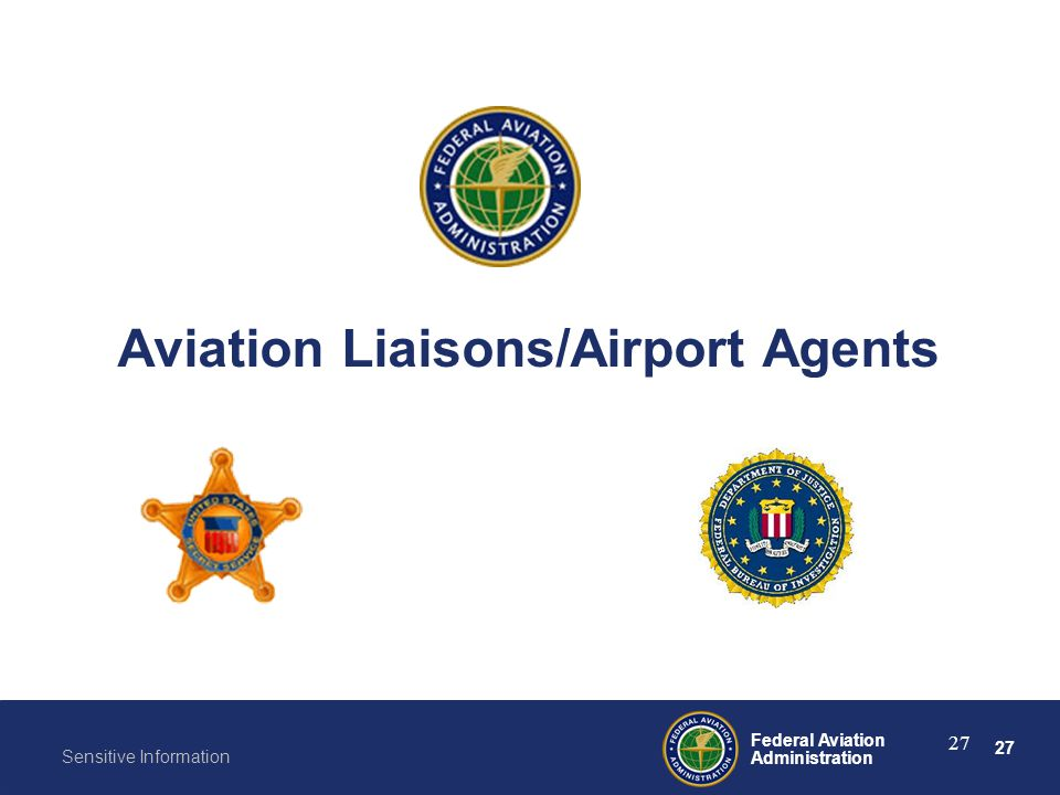 Aviation Liaisons/Airport Agents