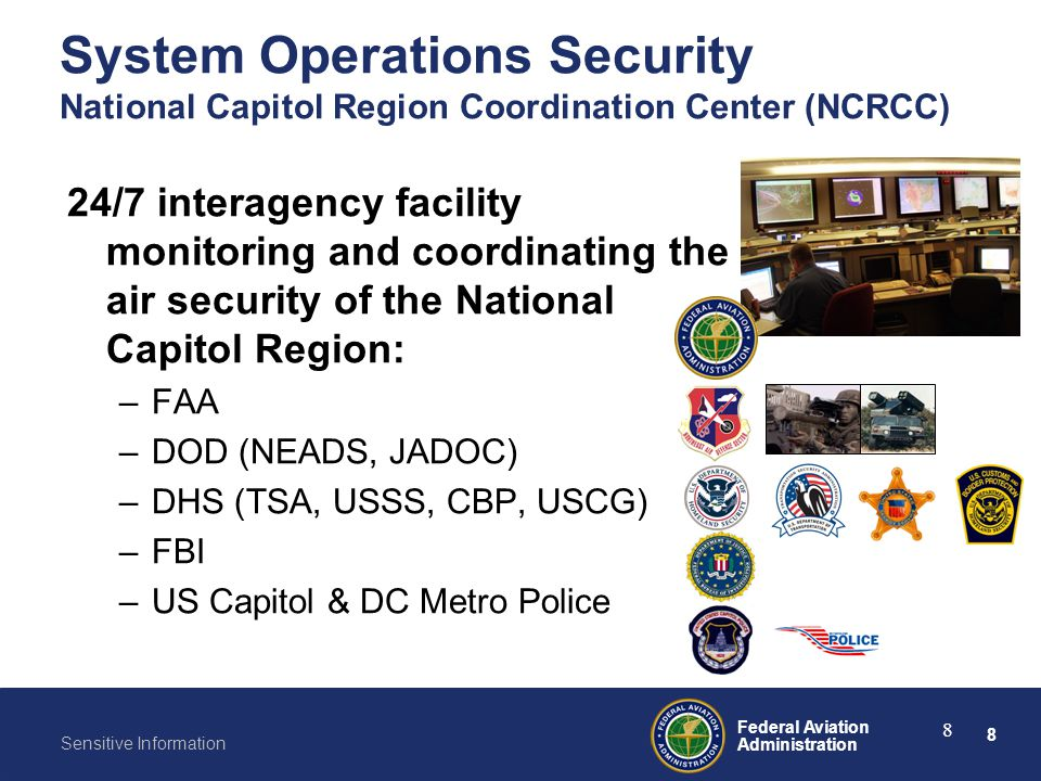 System Operations Security National Capitol Region Coordination Center (NCRCC)