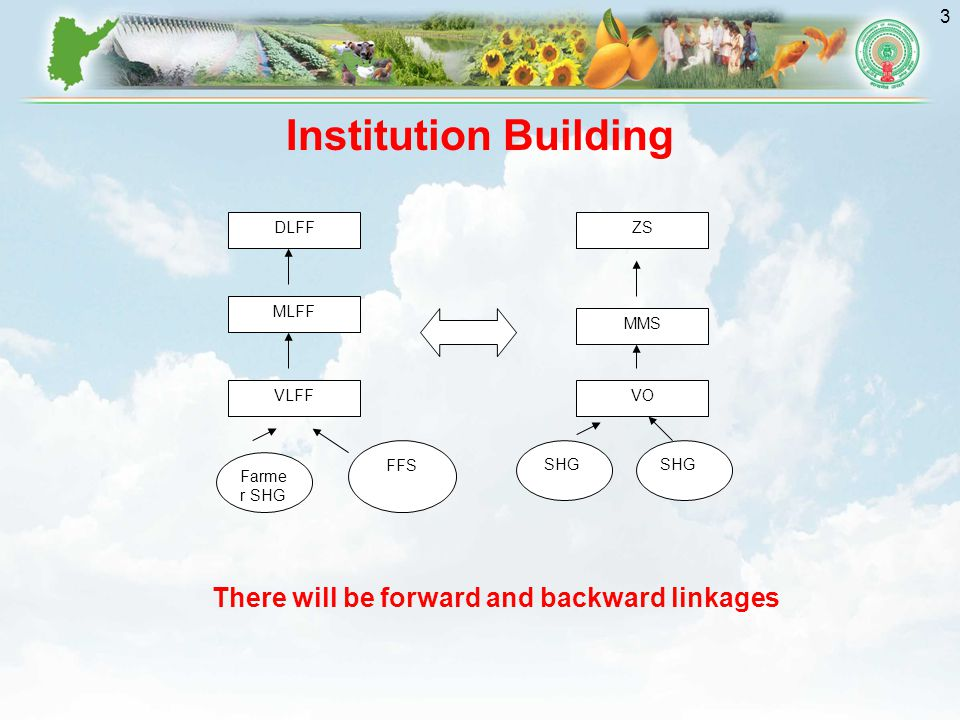 There will be forward and backward linkages