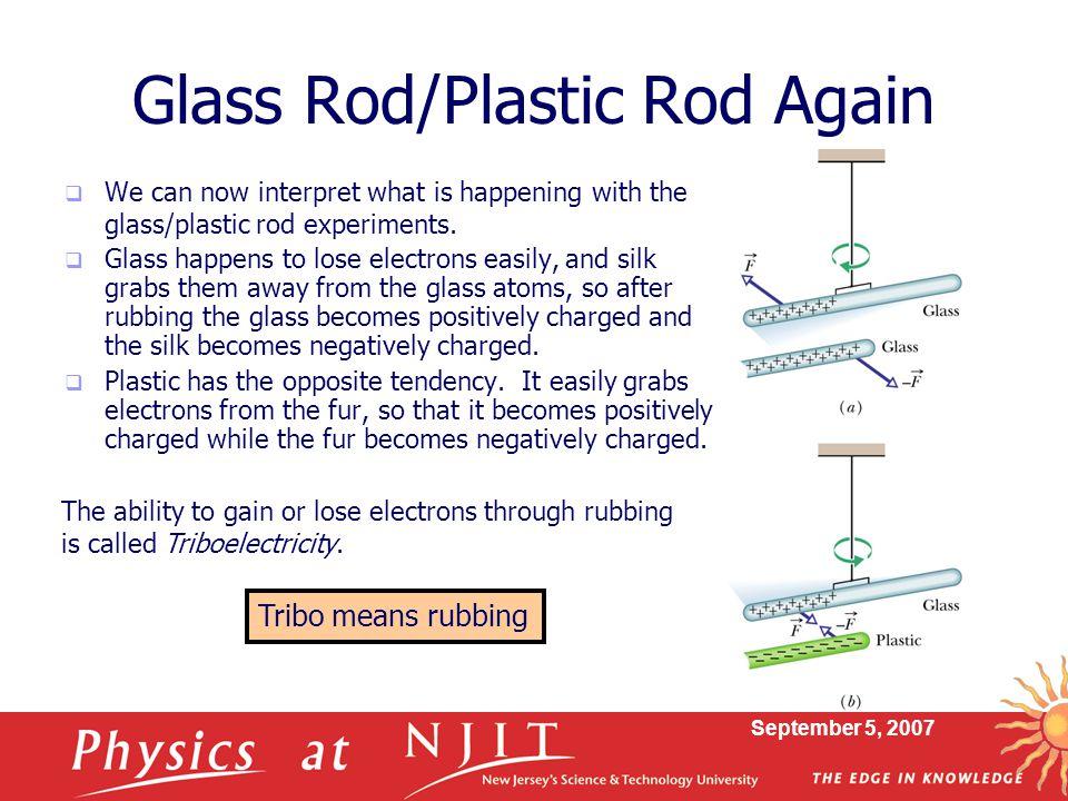 Glass Rod/Plastic Rod Again