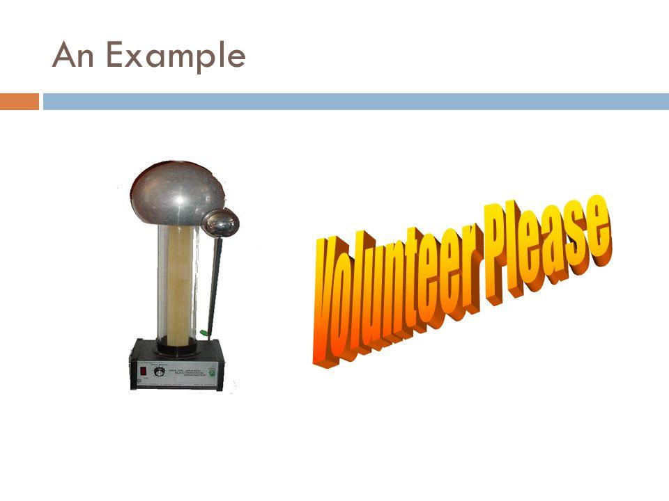 An Example Volunteer Please