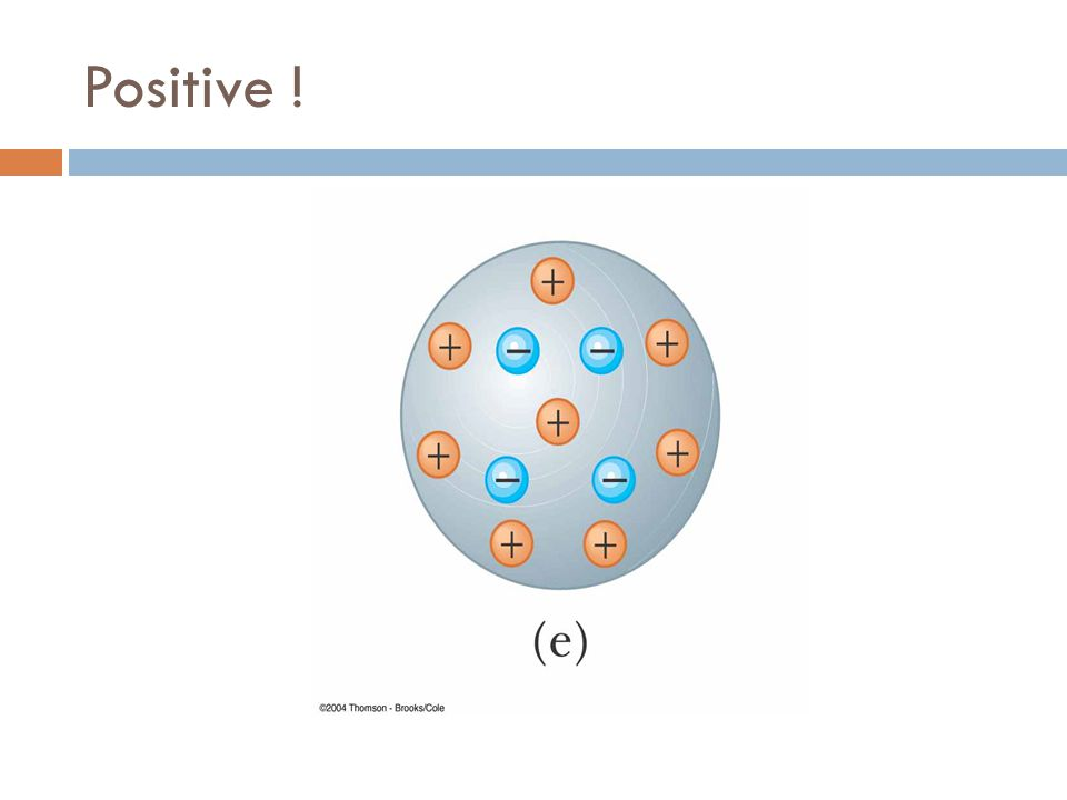 Positive !