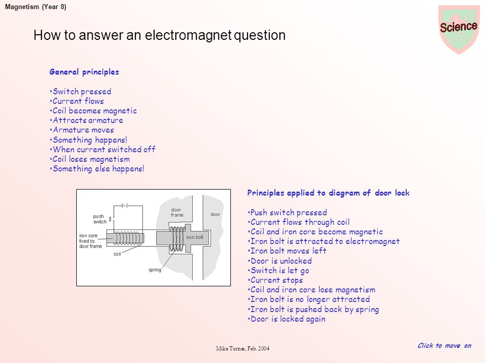 How to answer an electromagnet question