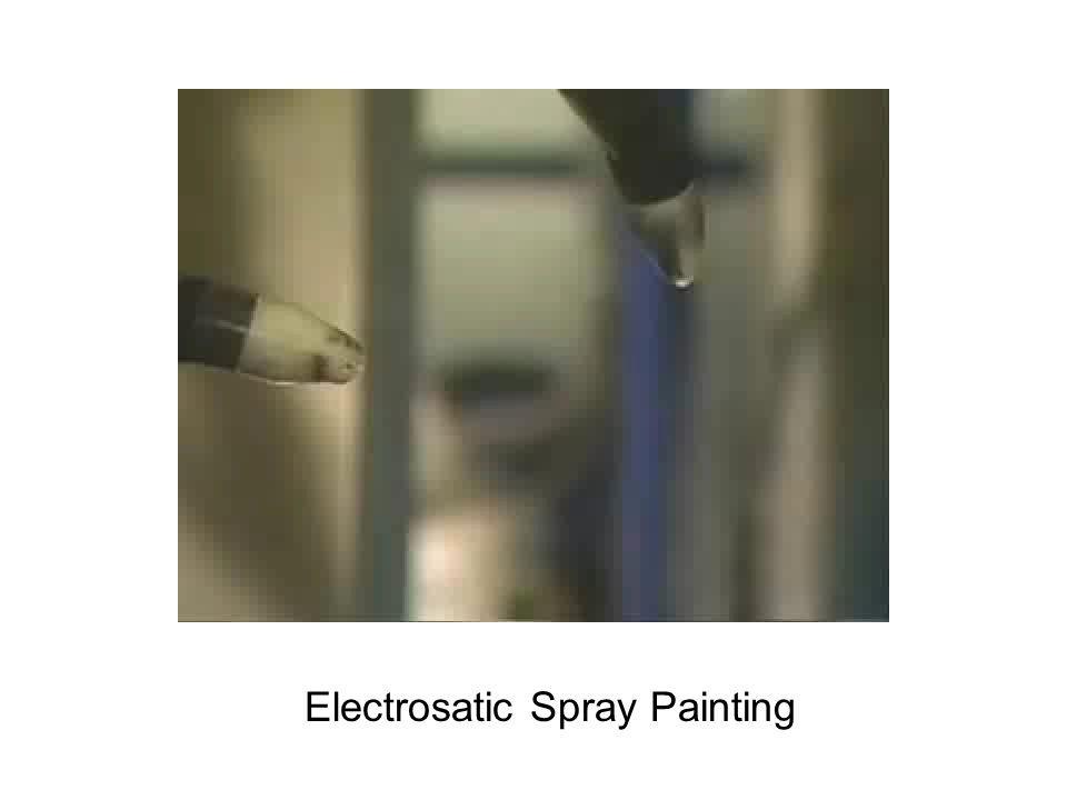 Electrosatic Spray Painting