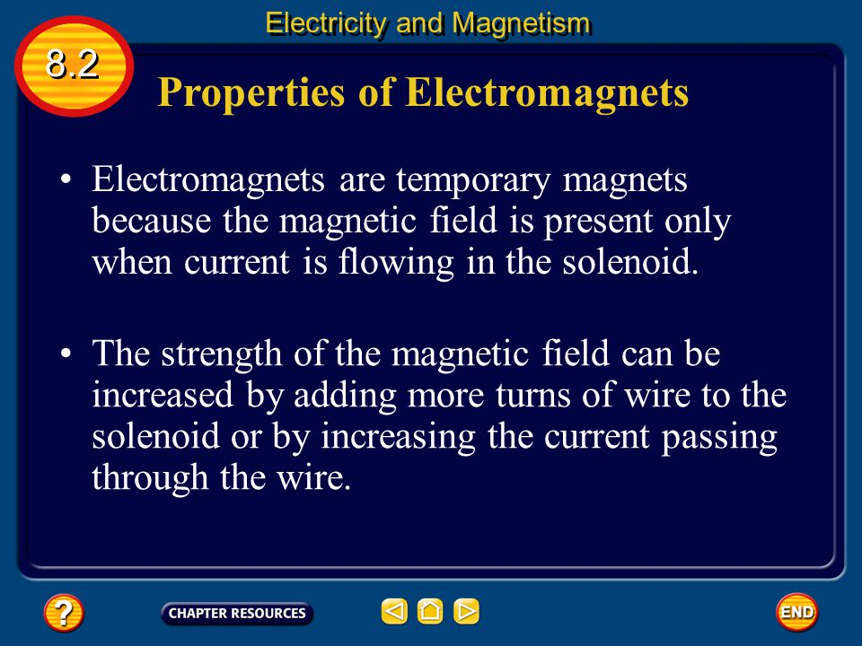 Properties of Electromagnets