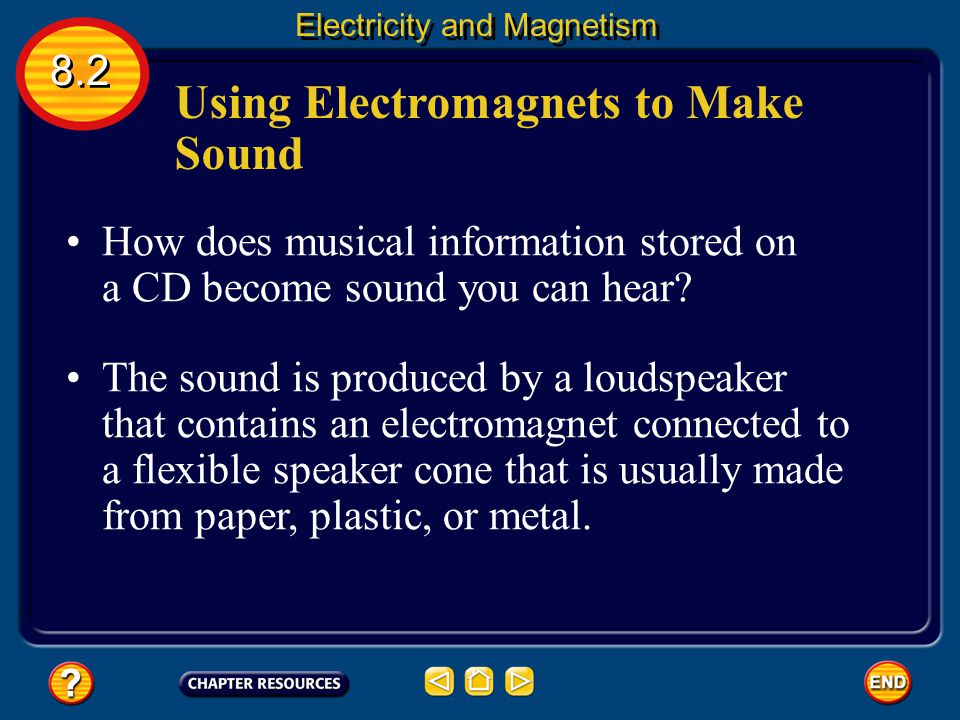 Using Electromagnets to Make Sound
