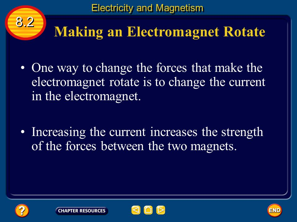 Making an Electromagnet Rotate