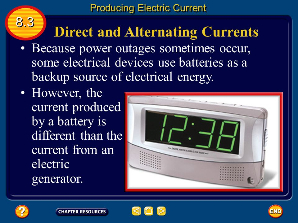 Direct and Alternating Currents