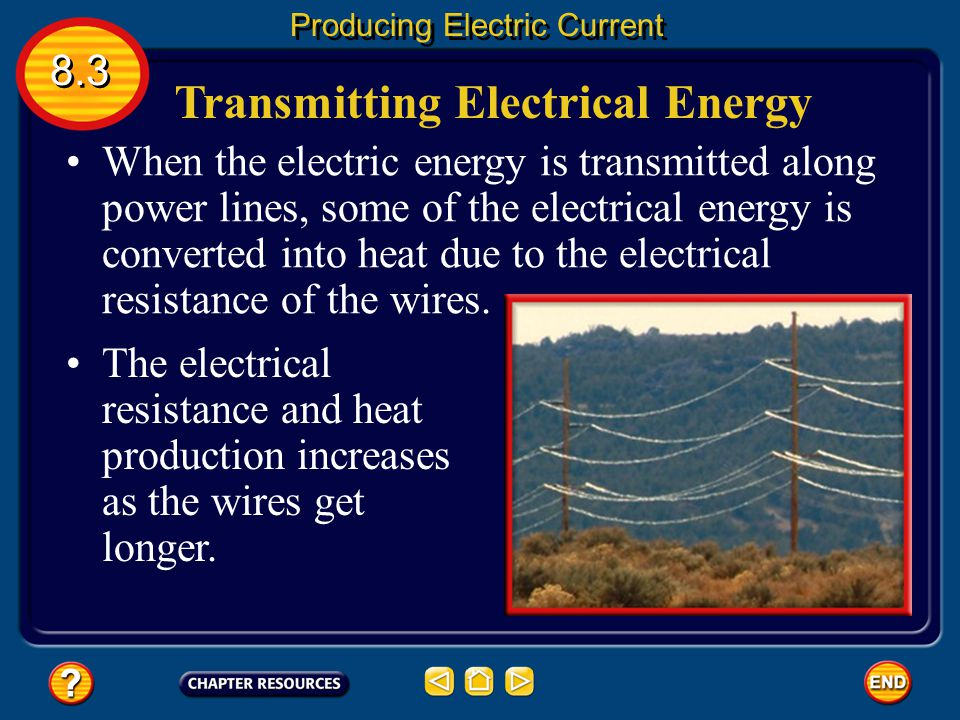 Transmitting Electrical Energy