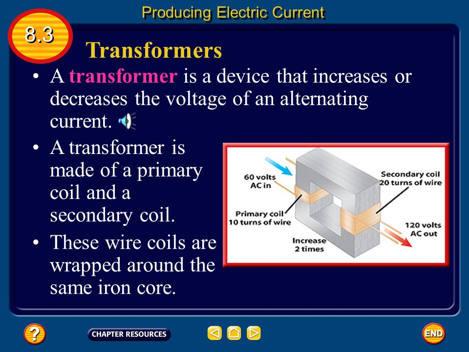 Producing Electric Current